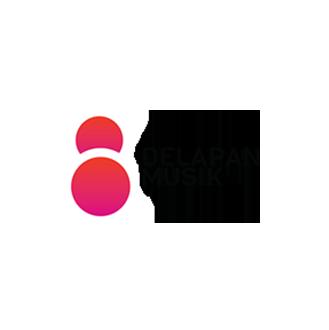 delapan-musik_logo
